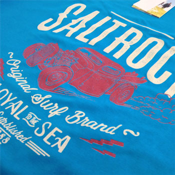 photo of Salt Rock t-shirt print